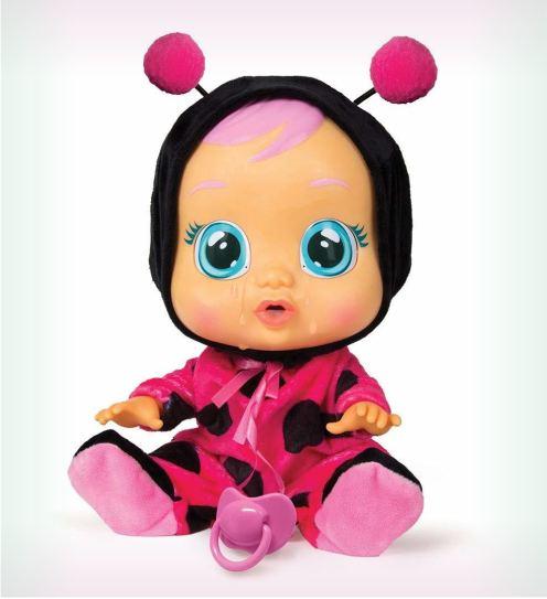 Cry Babies Плачущий младенец Леди Баг, Игрушка интерактивная