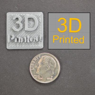 Печать мелких деталей на 3д принтере