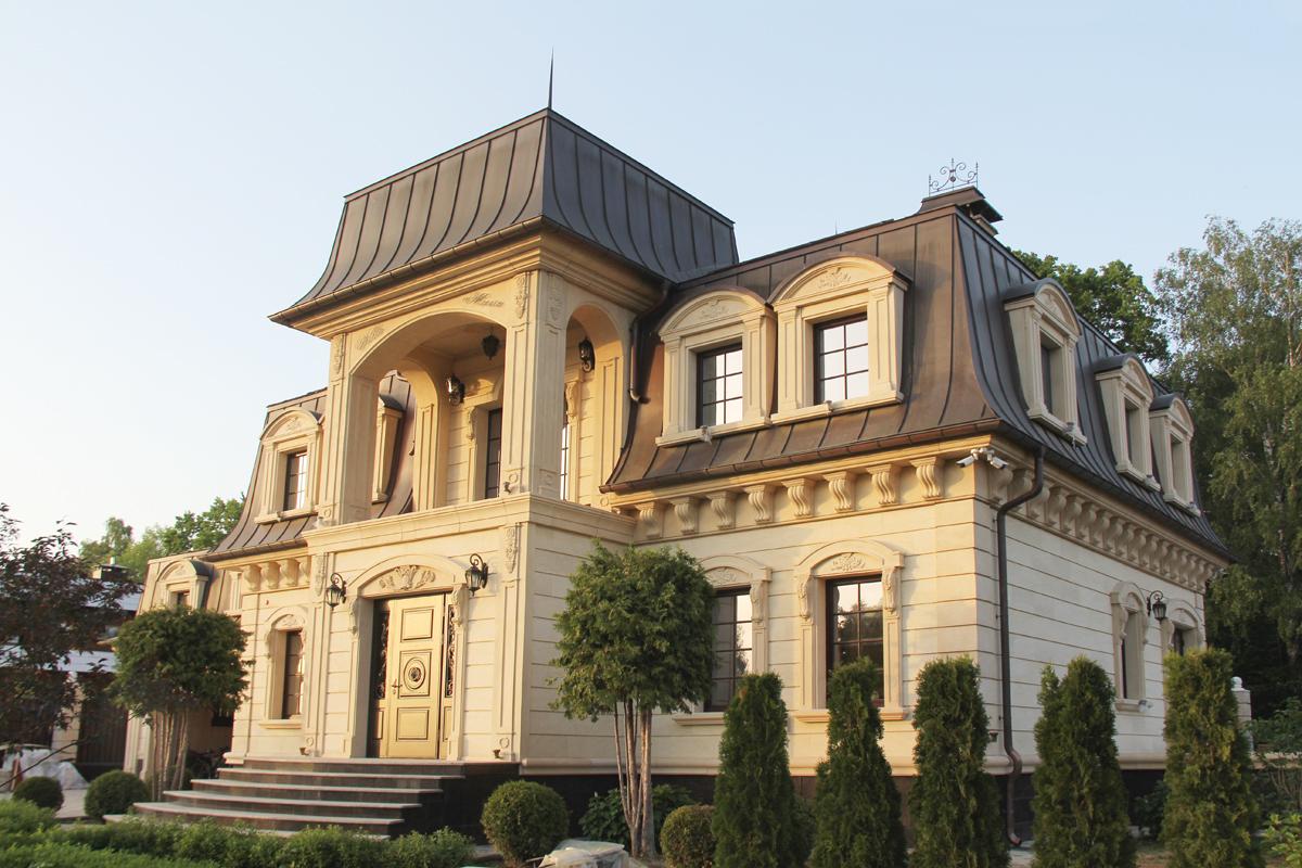 Фото фасад частного дома
