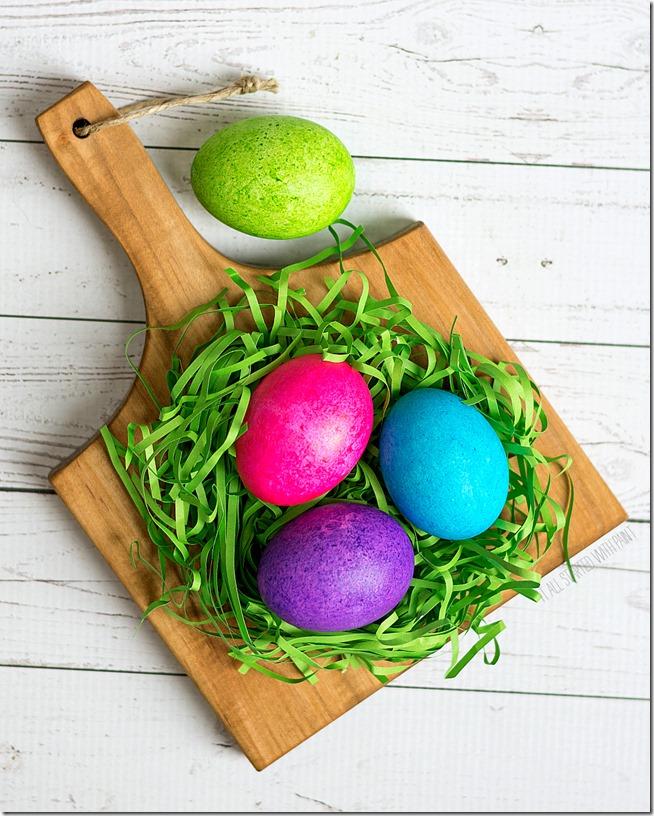 как окрасить яйца на пасху
