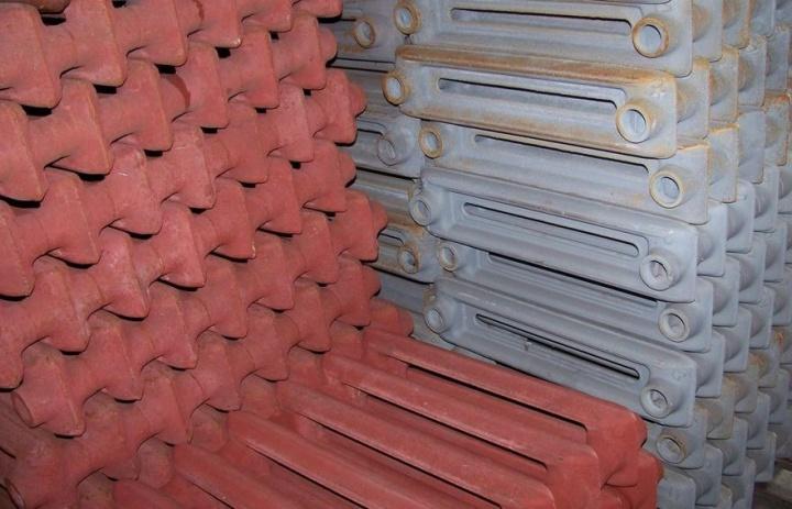 Чугунные радиаторы не боятся вертикальной нагрузки при штабелировании
