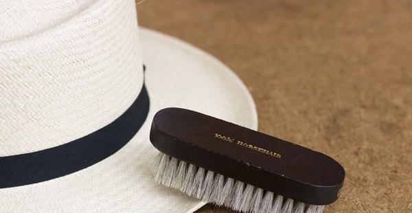 чистка шляпы