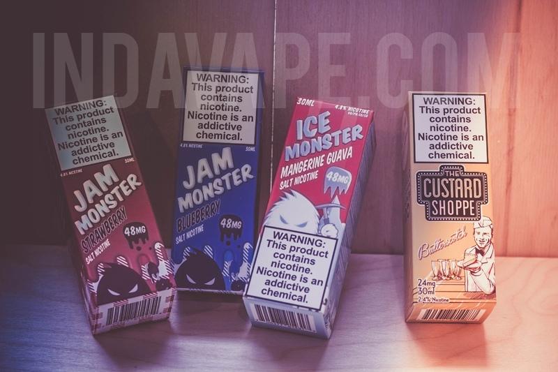 Купить солевую жидкость в Москве в интернет-магазине InDaVape