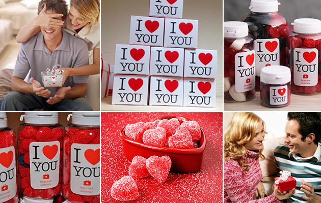 Подарки на День Влюбленных