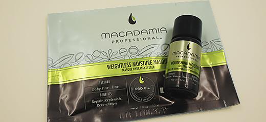 Macadamia Увлажняющая маска и Масло для волос