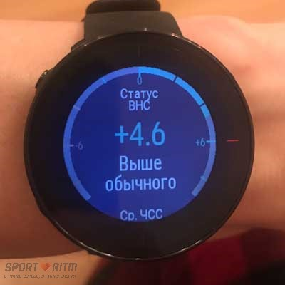 Статус Nightly Recharge