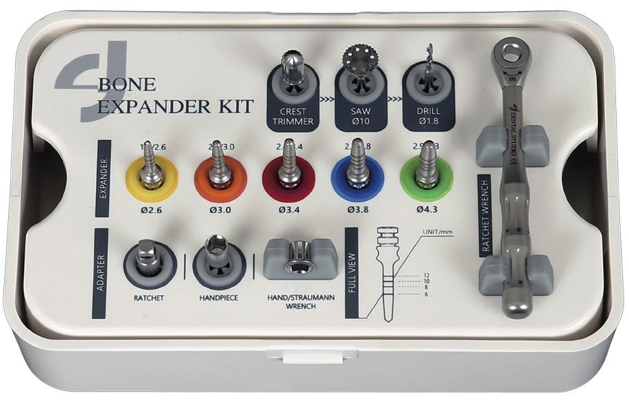 Набор для расщепление гребня Dental Studio Bone Expander Kit