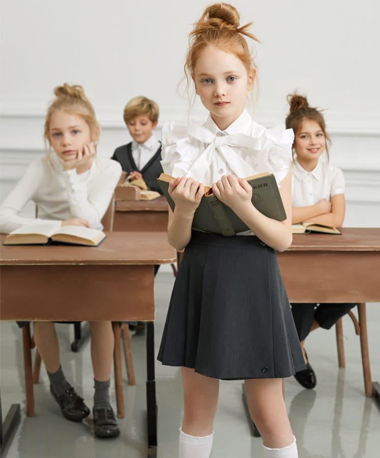 Магазин школьных блузок для девочек в Москве