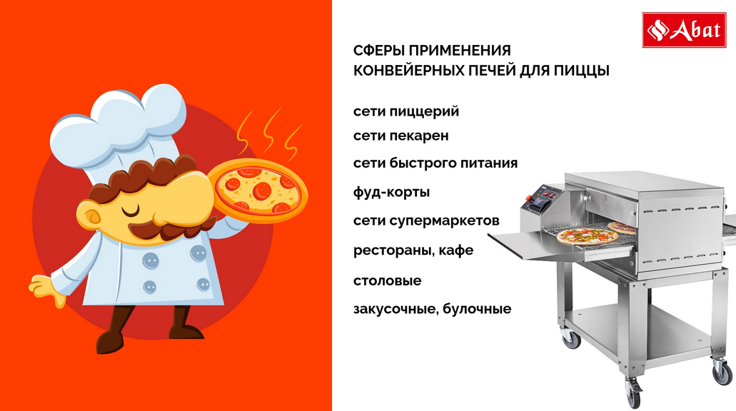 новые электропечи для пиццы Абат