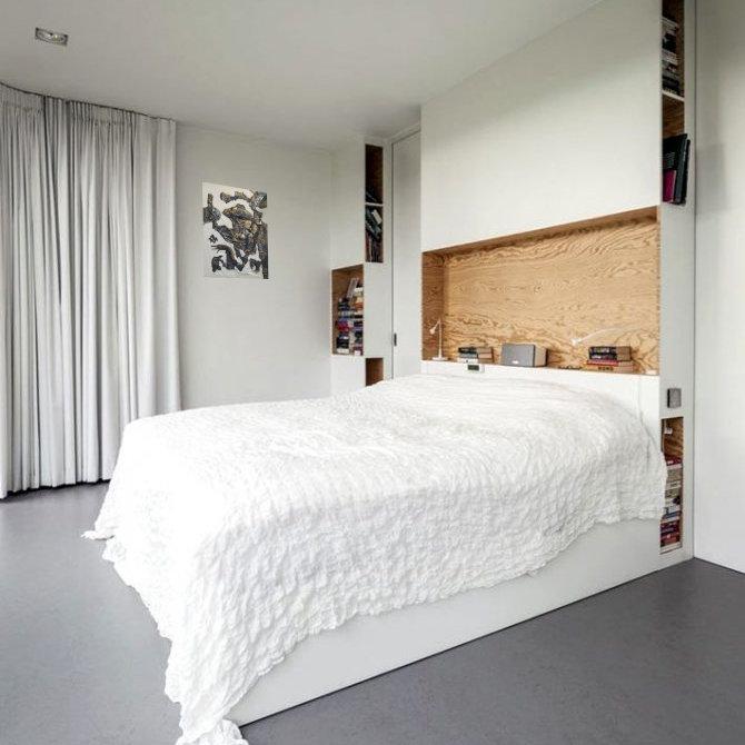 панно на стену в спальню сбоку от кровати