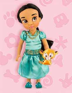 Кукла Жасмин с питомцем от Диснея