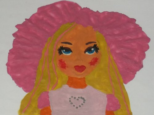 Конкурс рисунков Магия кукол Рарунцель