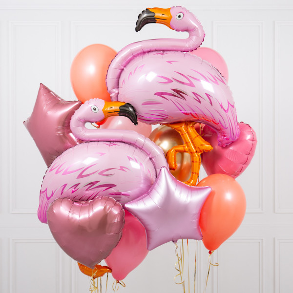 букет из шаров для девочек