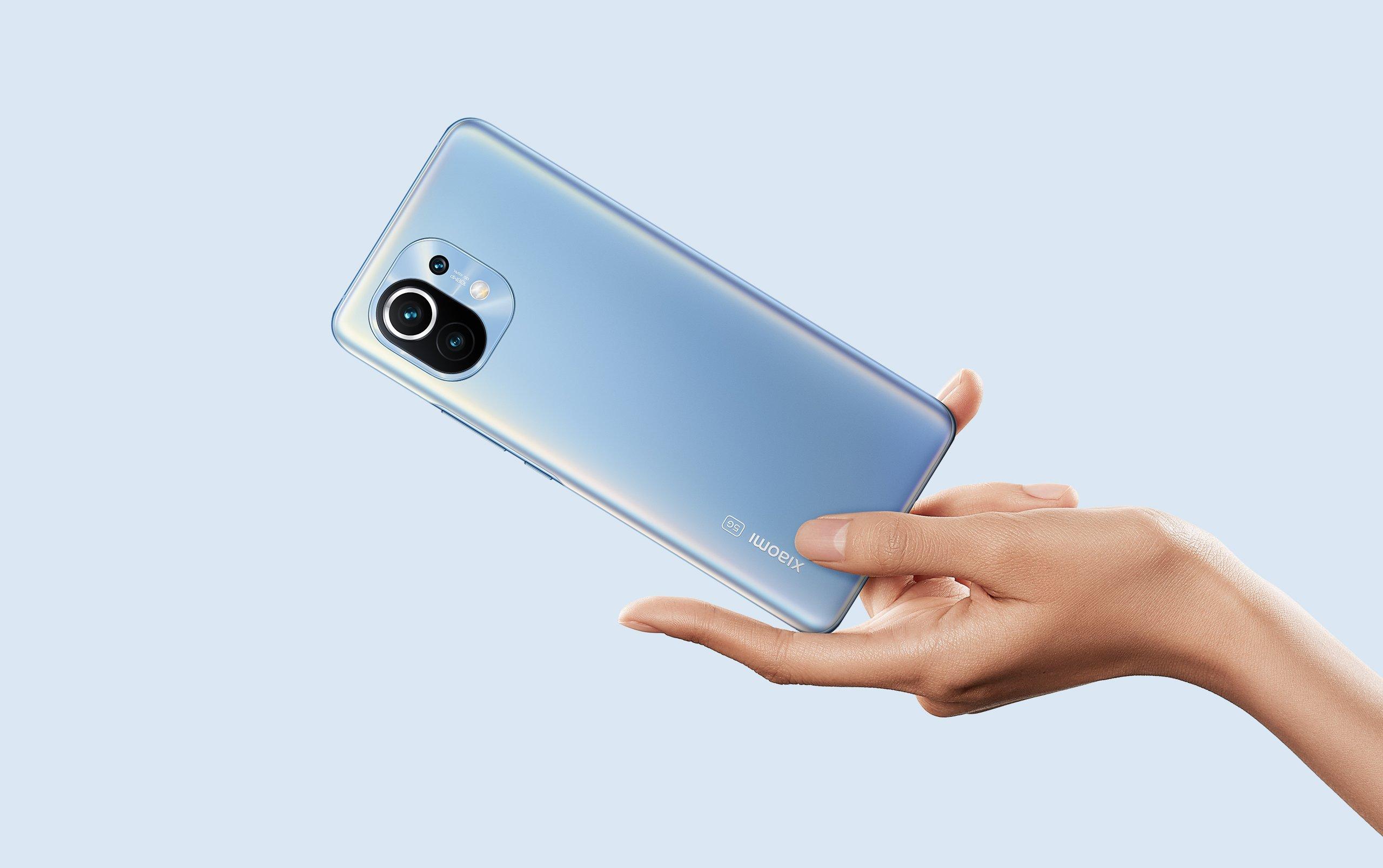 Смартфон Xiaomi Mi 11 Special Edition 12/256 Gb (синий/Blue)