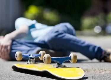 скейт травмы