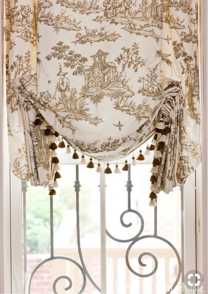 Дизайн римские шторы