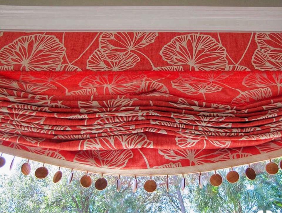 Бескаркасные римские шторы новинки