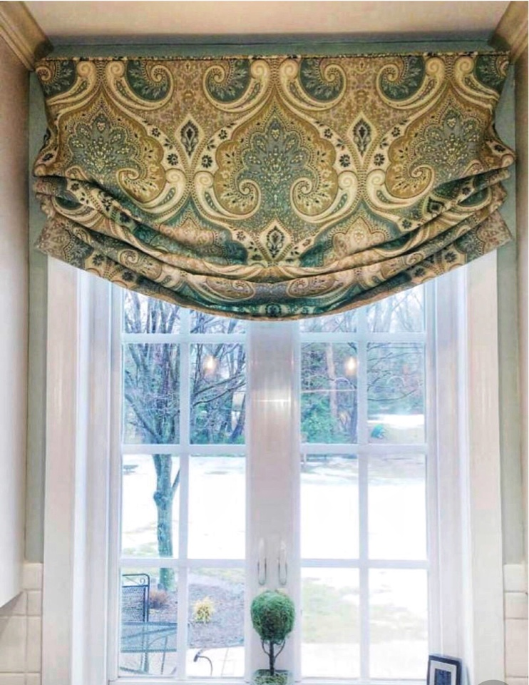 Новинка римские шторы дизайн
