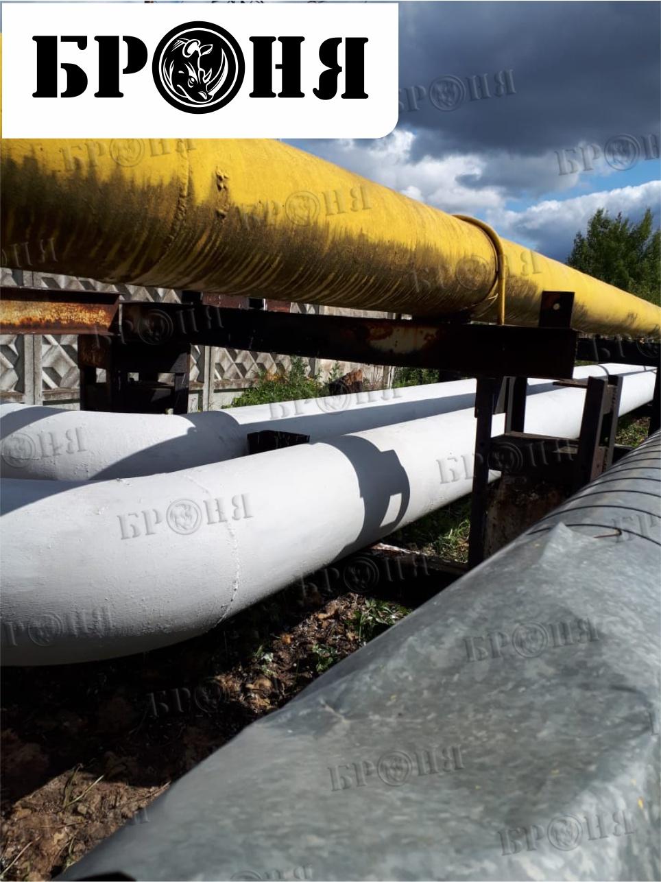Московская область. Ремонт теплоизоляции трубопроводов в рамках подготовки теплосетей к отопительному сезону