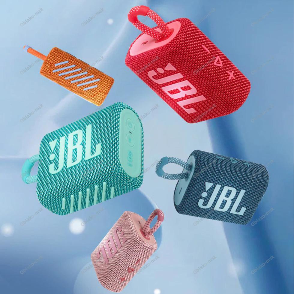 Портативная акустическая система JBL GO 3 с защитой от воды RU EAC