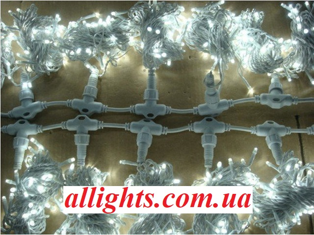 Уличная внешняя гирлянда штора 3 на 3 метра 750 светодиодов