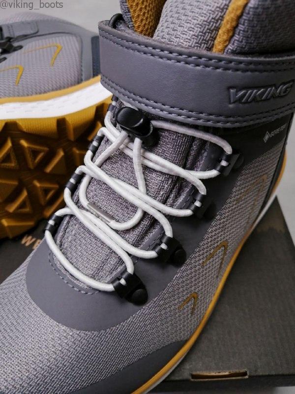 Ботинки Viking Liam GTX купить в сером цвете (сезон 2020-2021) можно с доставкой и примеркой