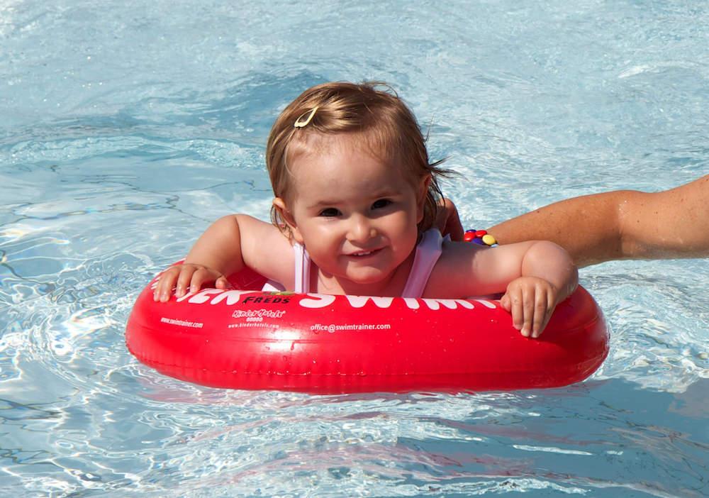 Круг для купания Swimtrainer красный