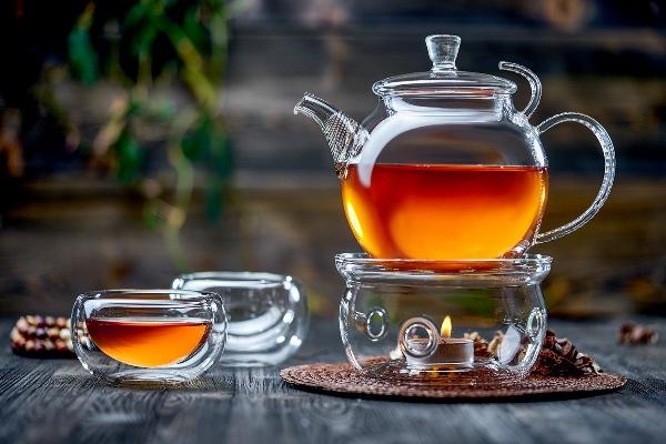 Очаровательный чайник с подогревом от свечи