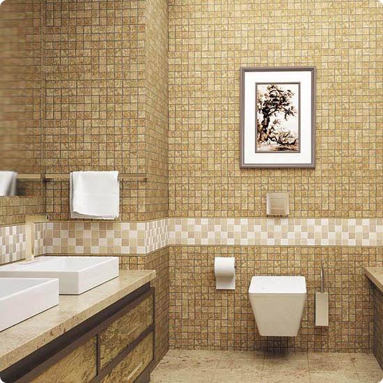 Акцентная стена из мозаики Tileclub