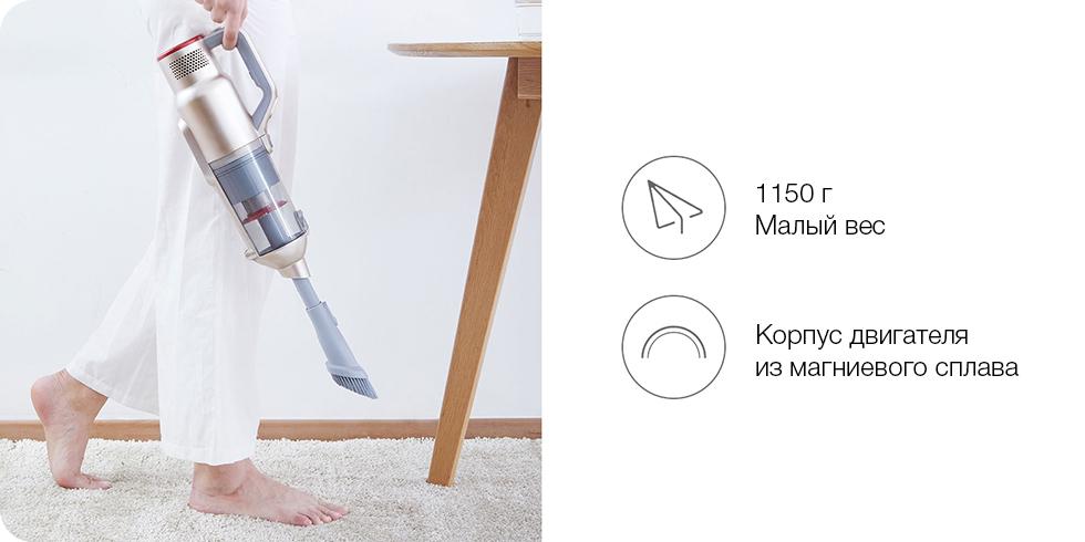 Беспроводной ручной пылесос Xiaomi JIMMY JV71
