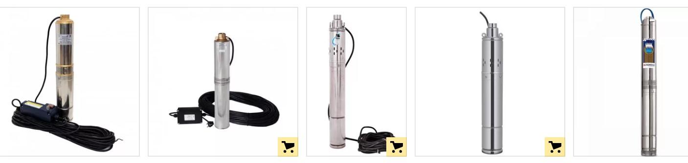 Скважинные насосы для перекачки и откачки воды