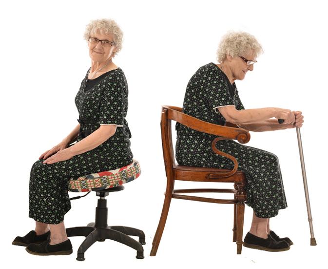 Укрепление мышц спины в домашних условиях на Танцующем Стуле