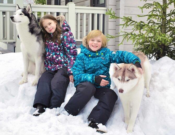 Зимний комплект Premont Университет Макгилла WP82214 купить в интернет-магазине Premont-shop!