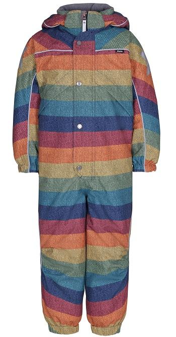 Комбинезон Molo Polaris Denim Rainbow для мальчиков (Зима 2018-2019)