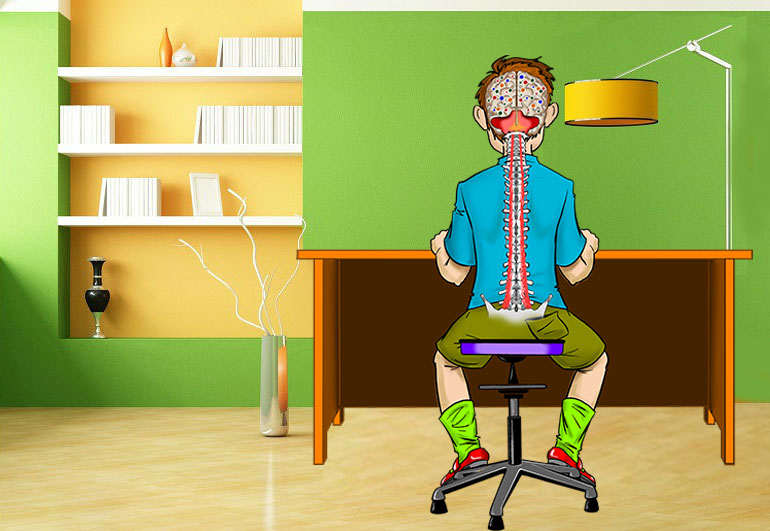 Тренеровка для активности мозга и улучшения работы мозжечка - Танцующий Стул