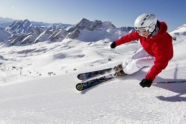 горные лыжи защита