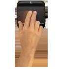 Прокрутка двумя пальцами