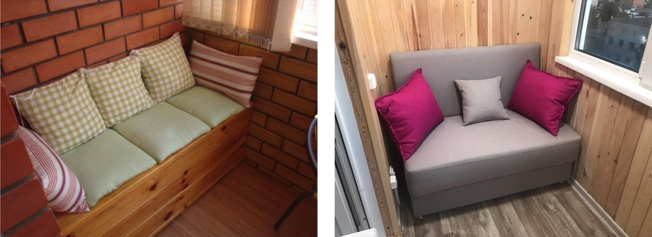 диванчик на балкон
