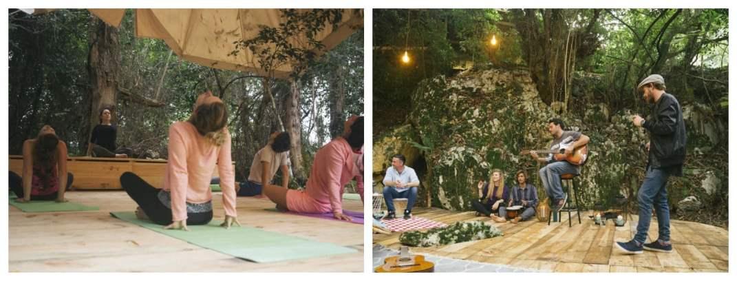 Серфинг и йога кемп в Испании