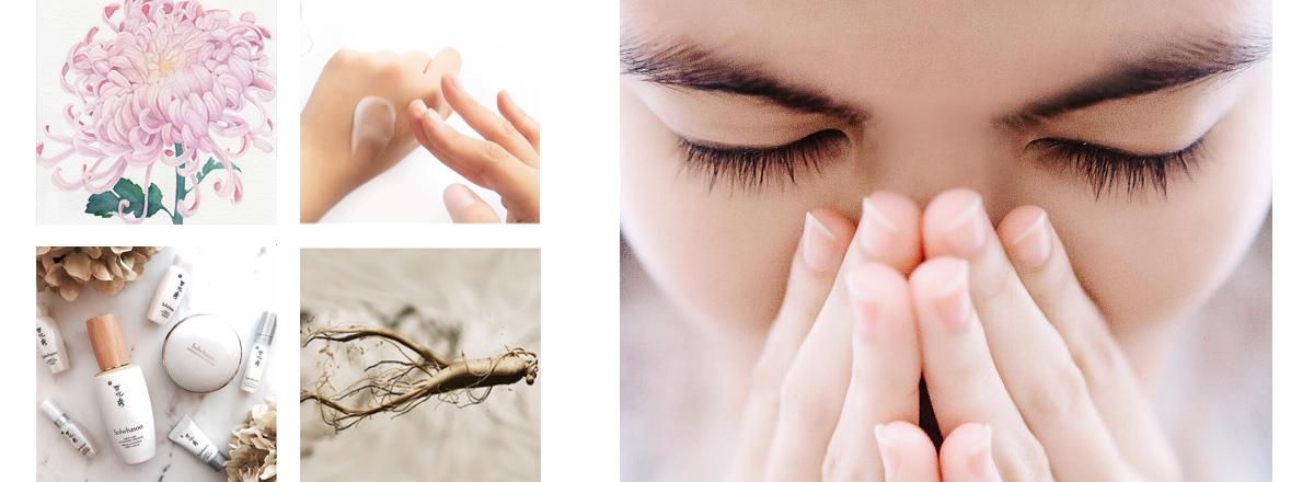 Раздел с корейскими кремами для кожи лица