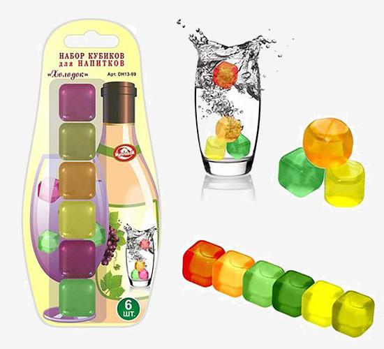 Набор разноцветных кубиков «Холодок»