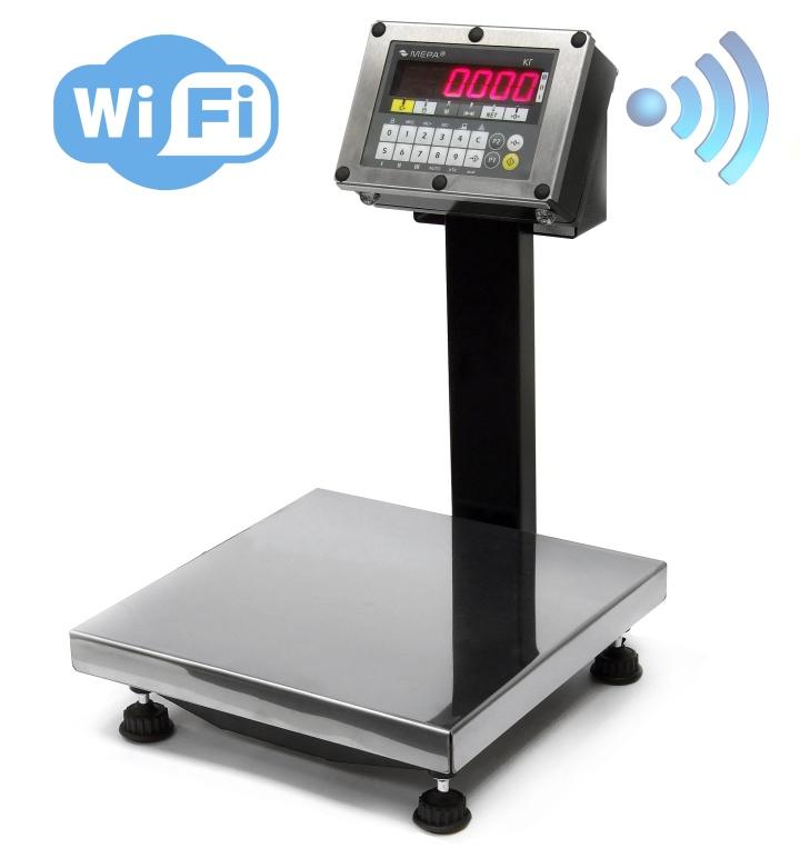 WiFi-модуль в весы встраивается производителем опционально