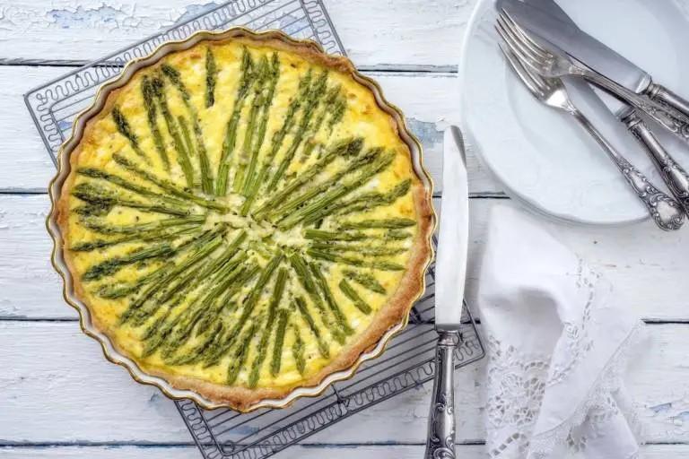 Пирог со спаржей, итальянский рецепт