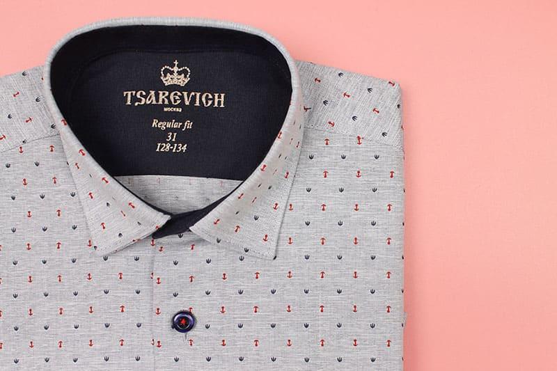 Школьный рубашки для мальчиков 2021