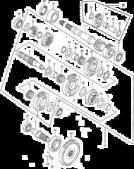 Детали коробки переключения передач Stels Leopard