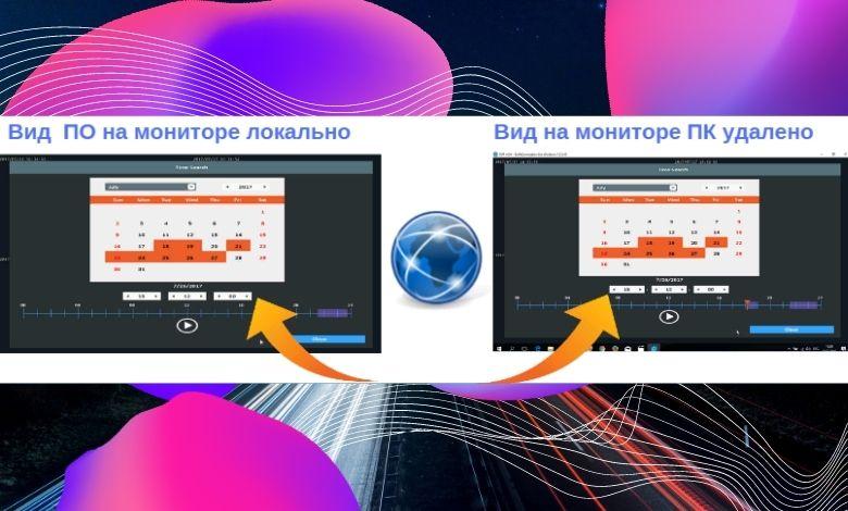 Схема удаленного управления видеорегистратор CAICO 5 МП