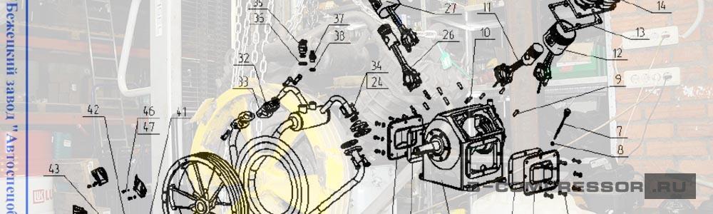 Каталоги запчастей для Бежецких компрессоров - скачать на B-compressor.ru