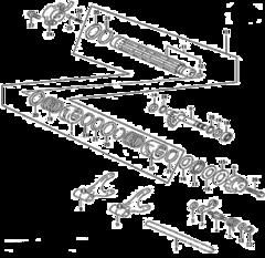 Механизм переключения передач Stels Leopard