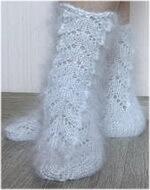 Носки из мохера