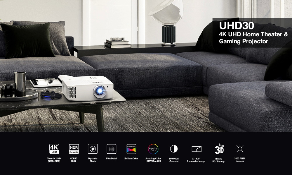 4K проектор Optoma UHD30